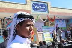 افتتاح مدارس ایران من سوسنگرد آلبوعفری